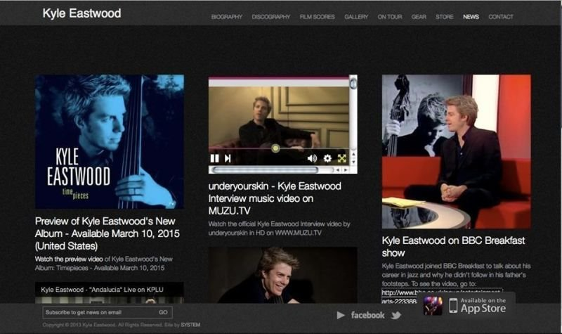 Kyle Eastwood Interview at Ronnie Scotts Jazz Club..