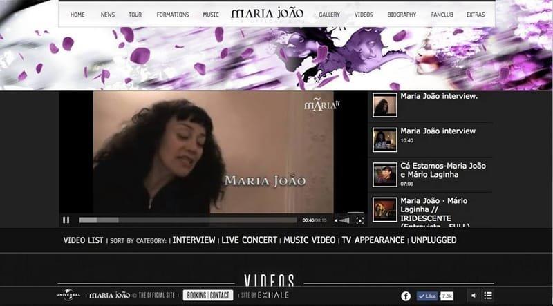 UYS interview with Maria João