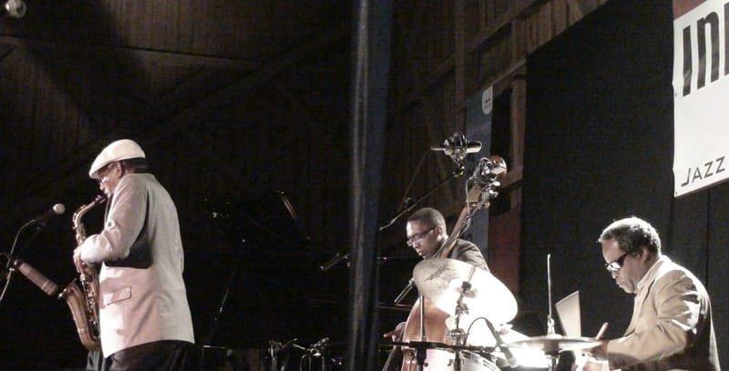 Doug  Hammond at Inntoene jazz Festival - Austria_