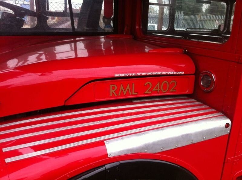 Routemaster Bonnet