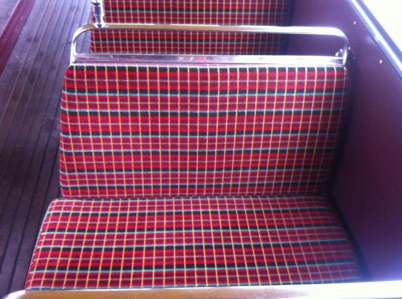 Original Routemaster Chair Motif