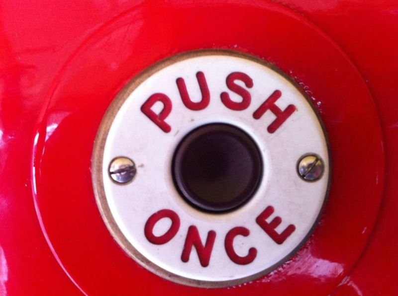 Routemaster Push Once Button