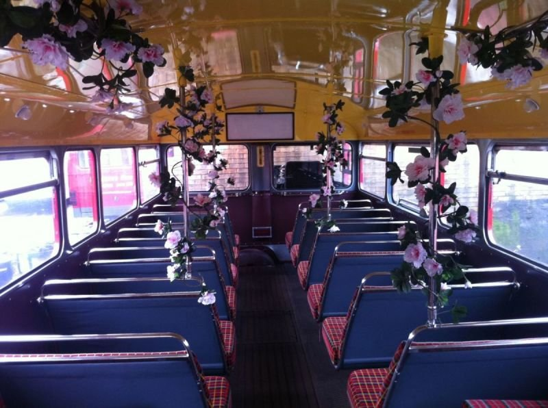 Interior Decorations on a Routemaster