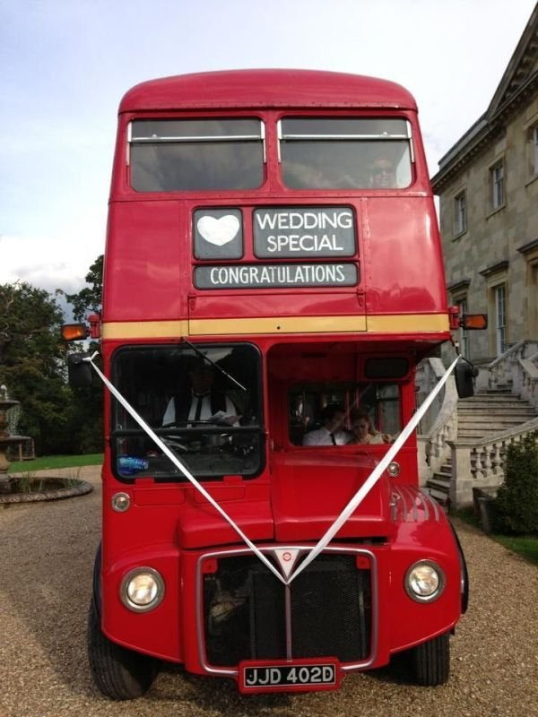 Front of a Routemaster
