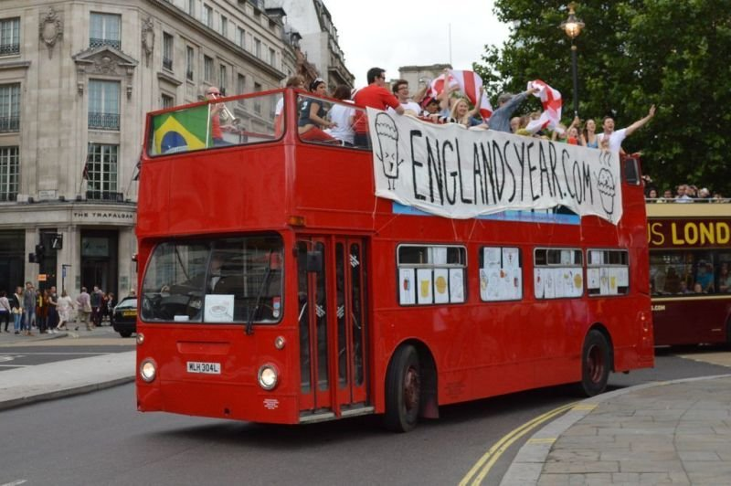 Open Top Bus on Hire
