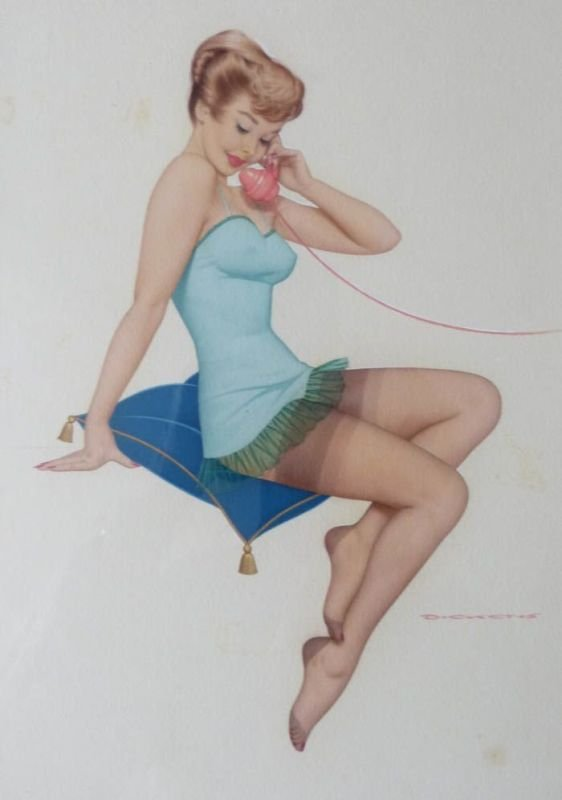 Archie Dickens 'Pin-up'