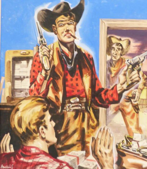 Oliver Brabbins Cowboy 1