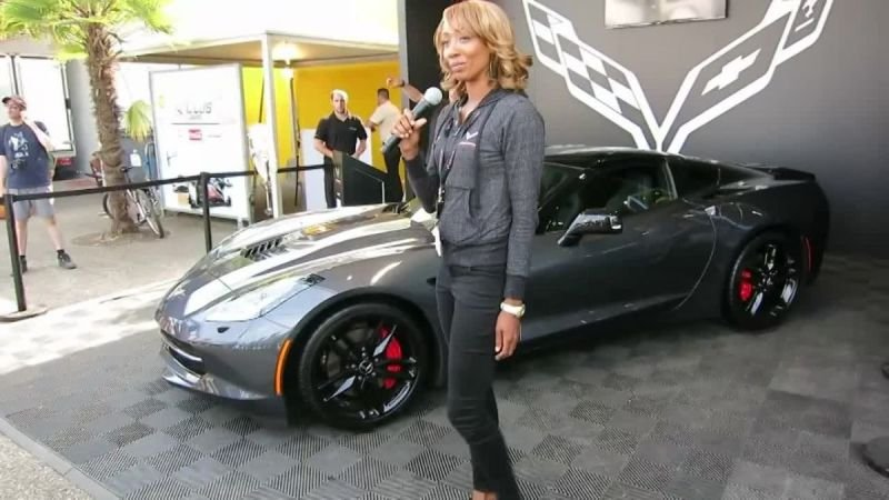 Corvette Stingray Presentation-France