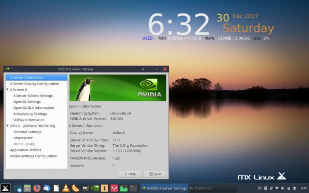 MX Linux MX-17 Horizon 1