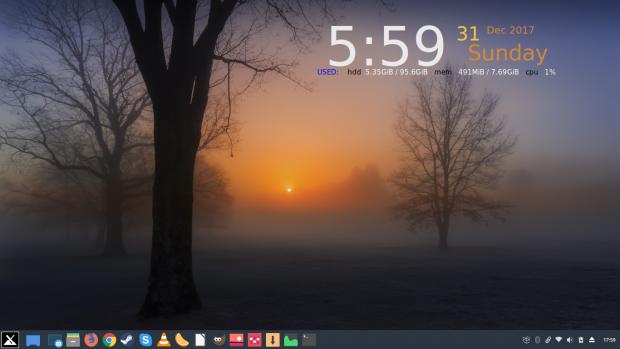 MX Linux MX-17 Horizon 2