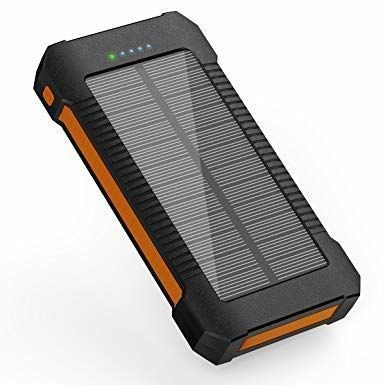 Solar PowerBank Phone Charger