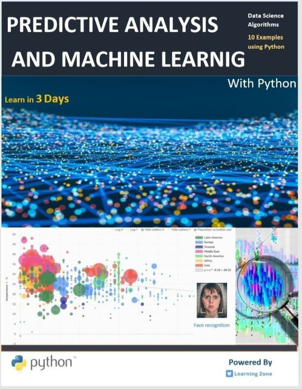 Predictive Analysis Machine Learning With Python Ebook Pdf Format