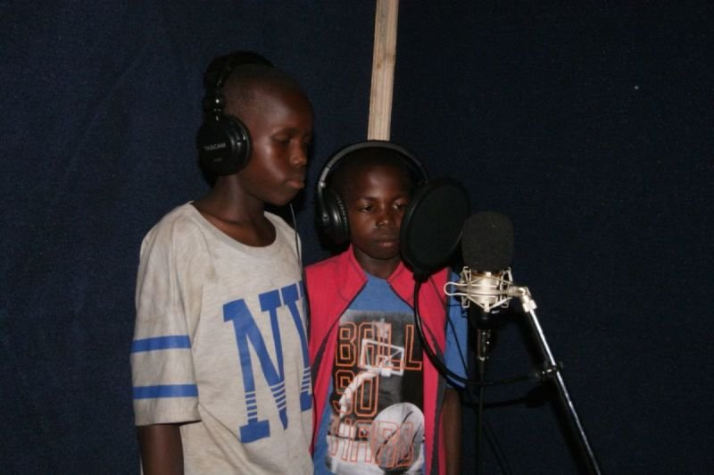 Peter Lokosang and Moses Bida Voicing
