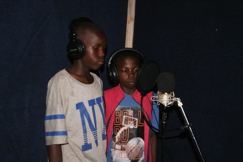 Peter Lokosang and Moses Bida Voicing