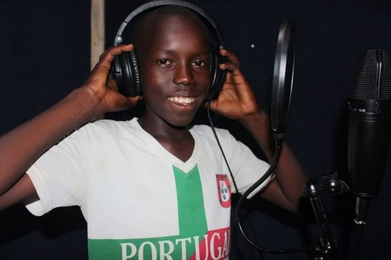 Moses Bida in Studio Voicing