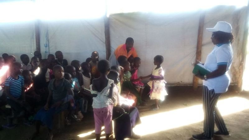 Apostle Grace Wenepai Enosa Encouraging I CAN Children