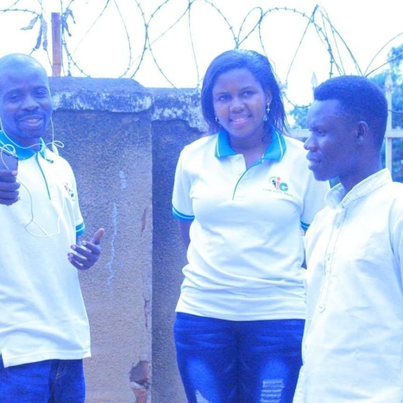 Stephen Wandu, Kyobutungi Angela and Seme Ludanga in discussion