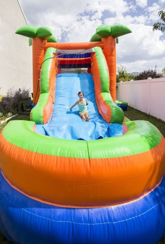 Hire inflatable water slides