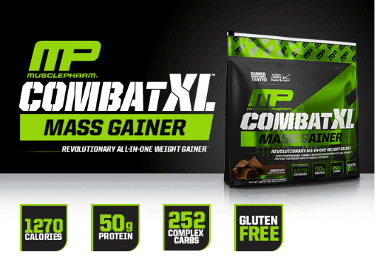 מאסל פארם קומבט XL גיינר - Muscle Pharm Combat XL Mass Gainer