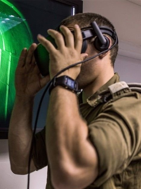 פתרונות תוכנה וחומרה AR\VR למגזר העסקי והצבאי