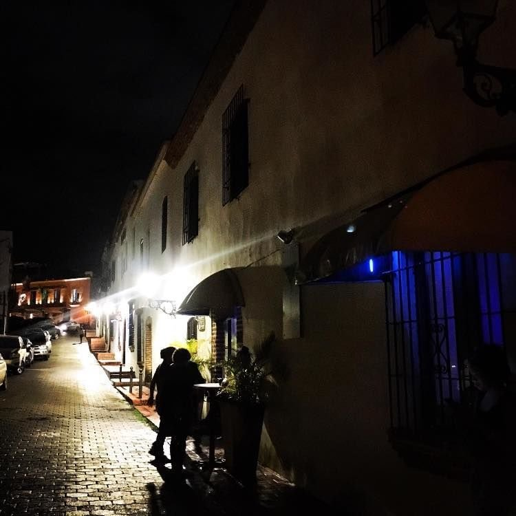 Santo Domingo Night Life, photo by Jack Loomes
