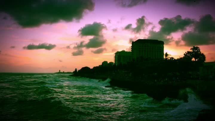 Santo Domingo Shoreline at Sunset, video by Jack Loomes