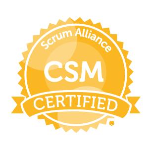 Certified Scrum Master Csm From Scrum Alliance
