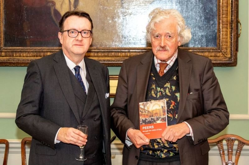 PEERS through the mists of time - Launch at Brooks's Club, London.