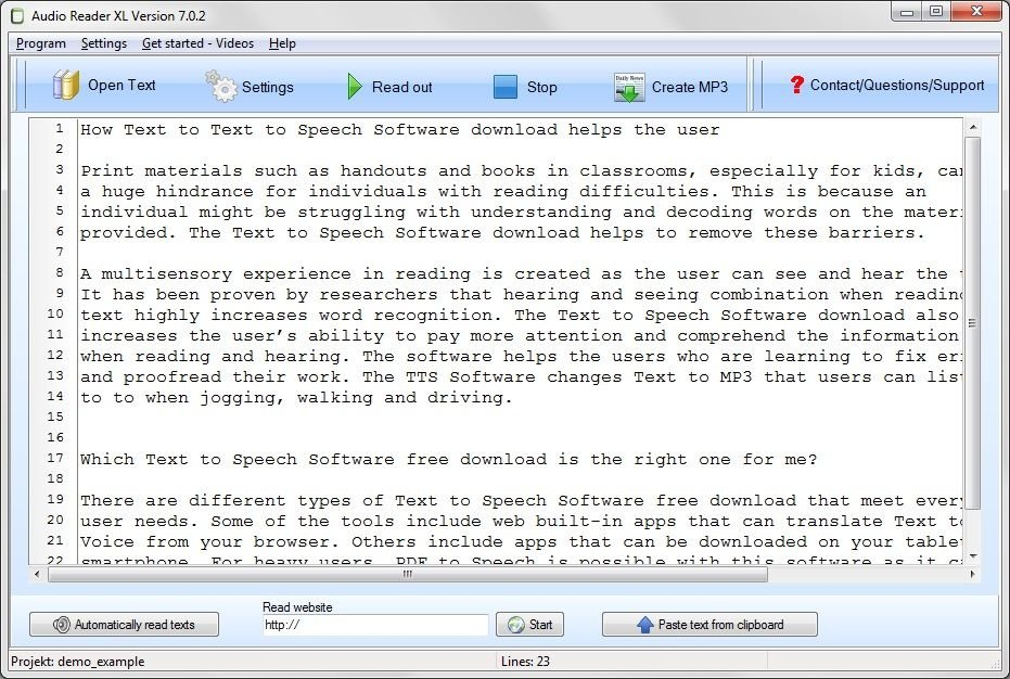 Be smart and ease your eyes with text to speech software - lindas