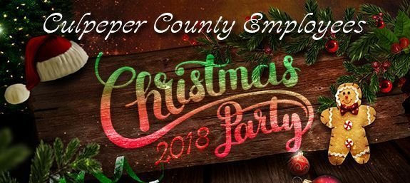 Culpeper County Employees Christmas Party 2018