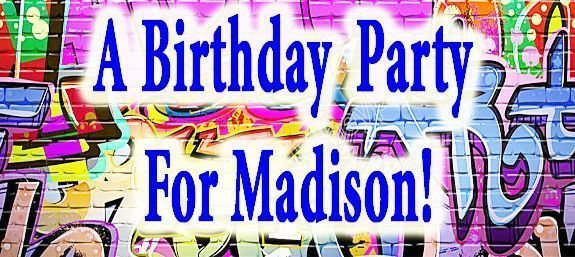 A Birthday Party For Madison