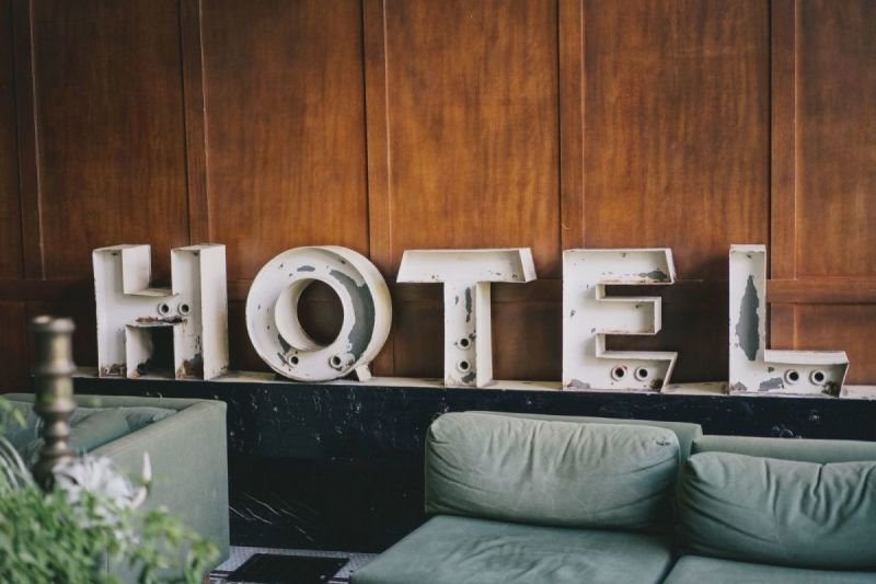 Providing accommodation in hotels and private accommodation