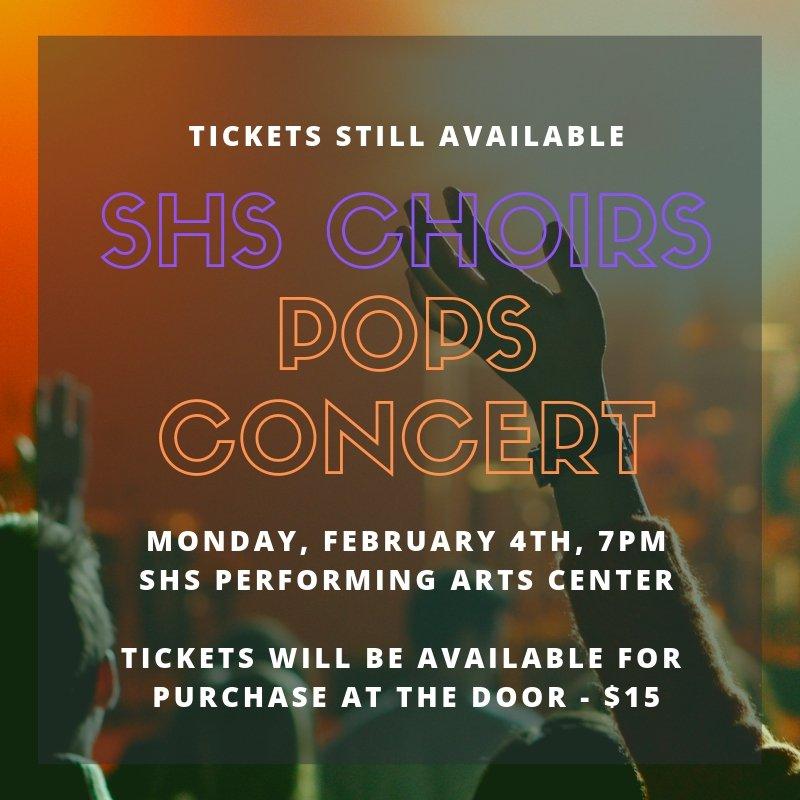 Stoughton High School Pops Concert - Social Media Marketing