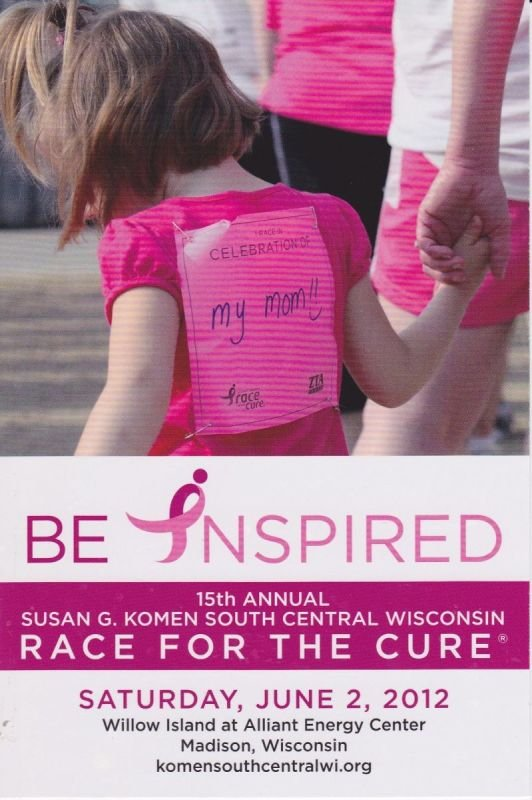 Susan G. Komen Race for the Cure - Direct Marketing - Madison, WI