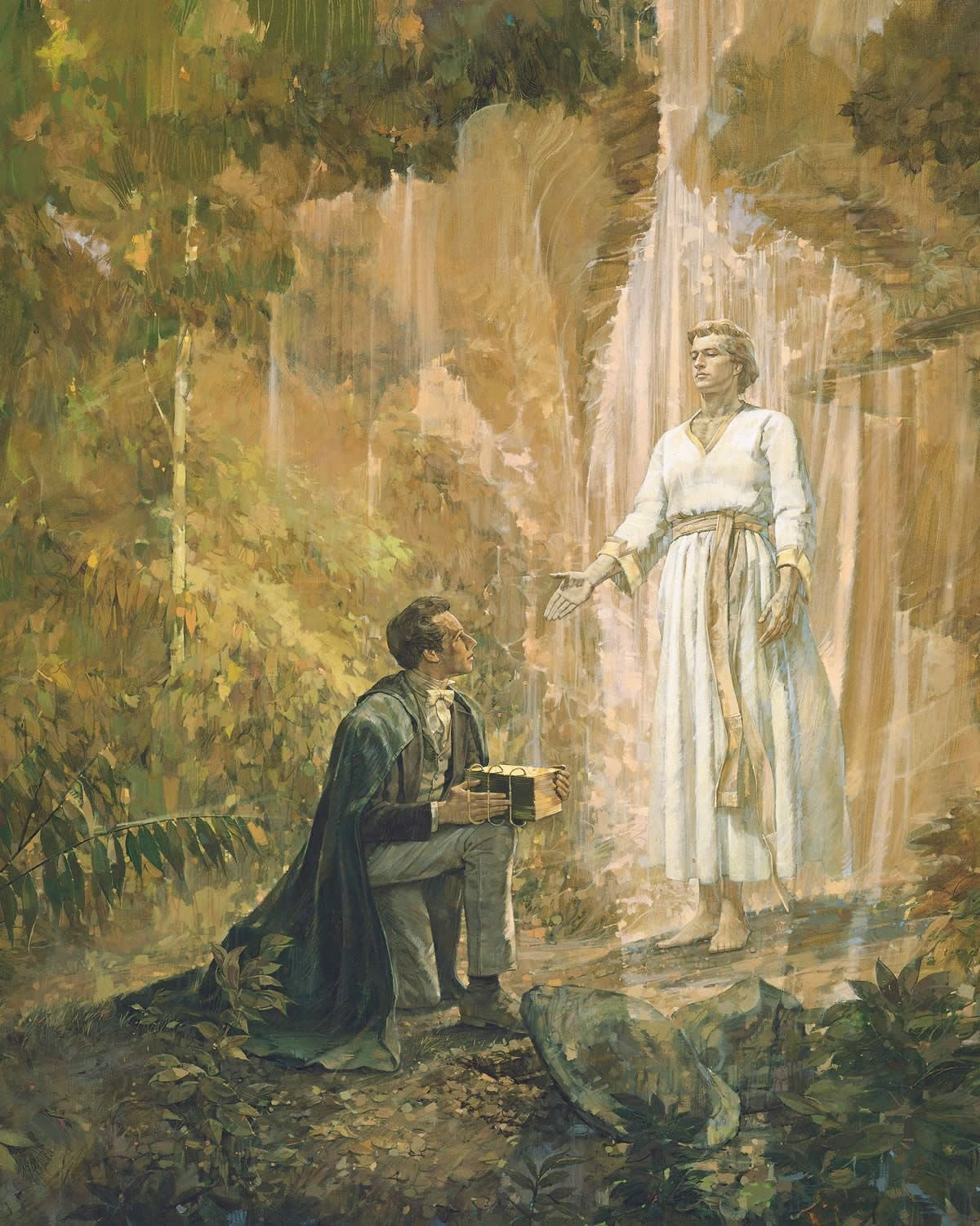 Moroni returns and further instructs the young prophet