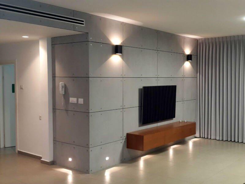 לוחות בטון אדריכלי