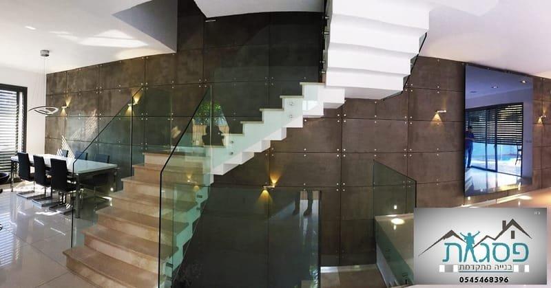 חיפוי קיר בטון אדריכלי