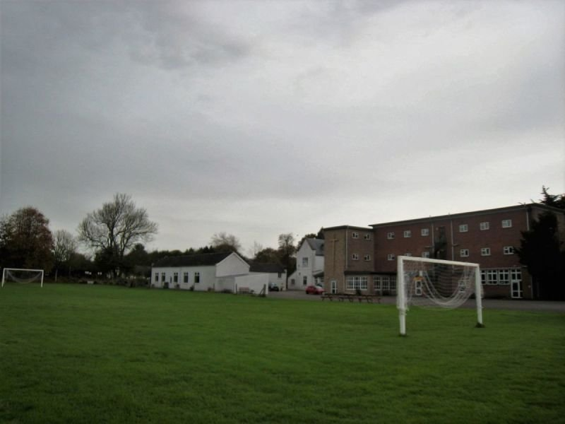 Football and volleyball pitch