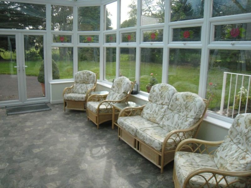 Beautiful and bright conservatory