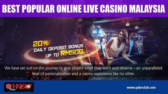 Best Popular Online Live Casino Malaysia