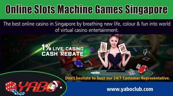 Online Slots Machine Games Singapore