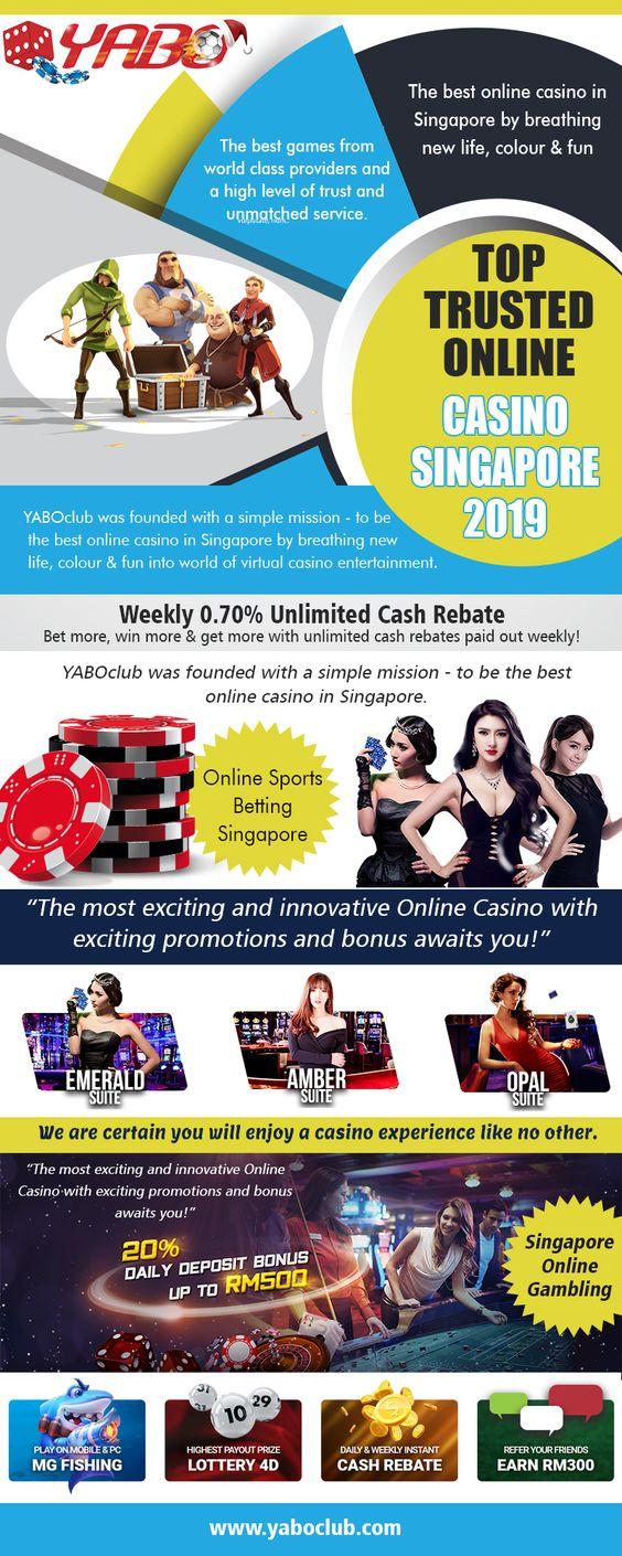 Top Trusted Online Casino Singapore 2019