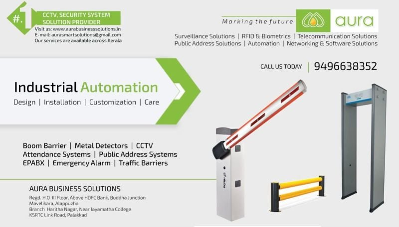 Industrial Automation Kerala - AURA BUSINESS SOLUITONS