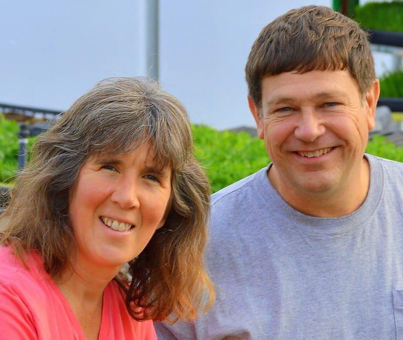 Greg and Jenny Van Grouw