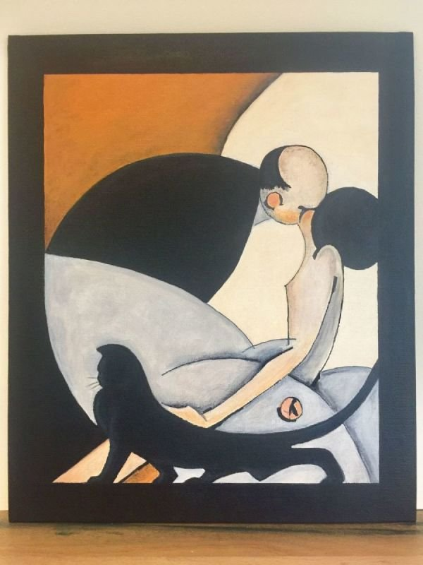 'The Kiss' 1925 (copy)