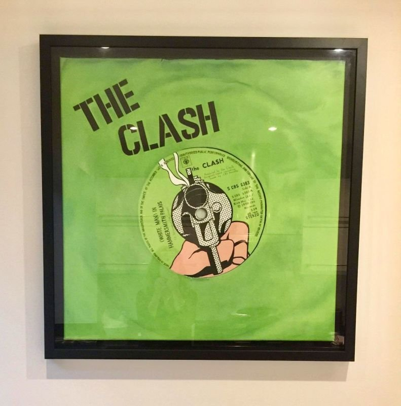The Clash FRAMED