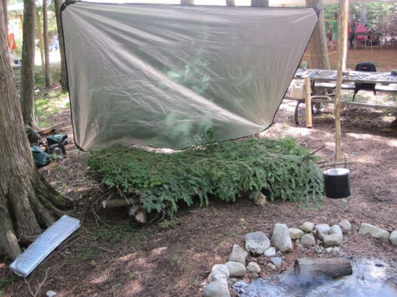 Wilderness Camp Setup