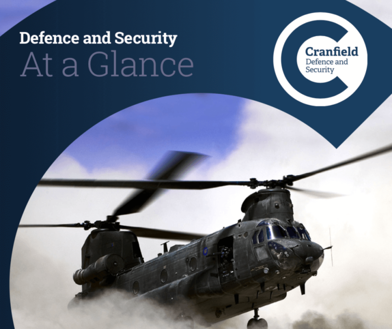 CRANFIELD  UNIVERSITY , DEFENCE AND SECURITY COURSES