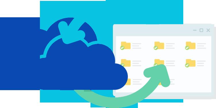 גיבוי קבצים ושרת קבצים - OneDrive אחסון ענן