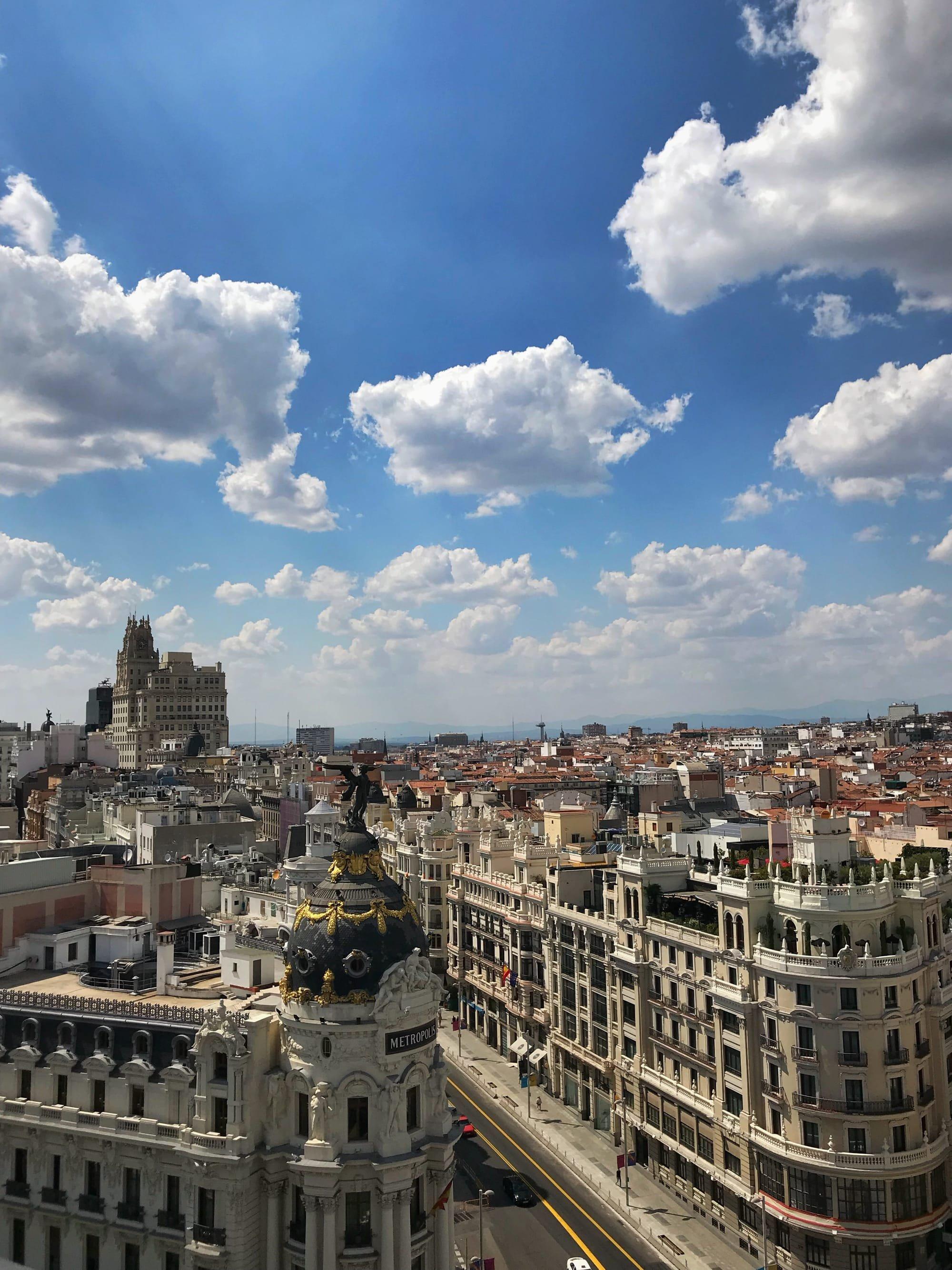 Terraza Palacio De Bellas Artes Madrid
